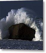 Rock V Wave II Metal Print
