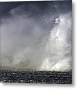 Rock V Wave V Metal Print
