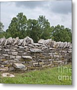 Rock Wall Steps Metal Print by Kay Pickens