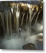 Rock Waterfall Metal Print