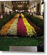 Rockefeller Center In Autumn Metal Print