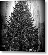 Rockefeller Christmas Tree Metal Print
