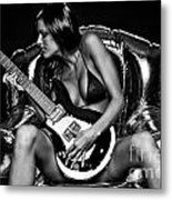 Rocker Chic Metal Print