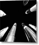 Rocket Launch Metal Print