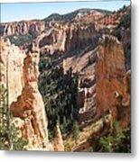Rockformation At Bryce Canyon  Metal Print