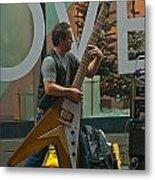 Rockin Time Square Metal Print