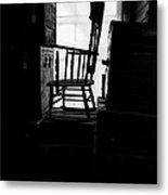 Rocking Chair Metal Print by Bob Orsillo