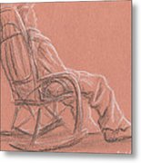 Rocking Chair Metal Print