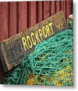 Rockport Metal Print