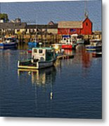 Rockport Harbor No.3 Metal Print