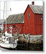 Rockport - Motif Number 1 Metal Print