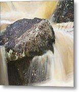 Rocks And Rapids #2 Metal Print