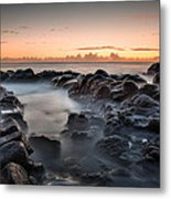 Rocks And Waves #7 Metal Print