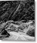 Rocks At Pt. Lobos Metal Print