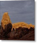 Rocks In Arches National Park Metal Print