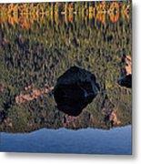 Rocks In Crescent Lake Metal Print