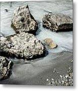 Rocks In The River Metal Print