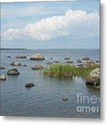 Rocks On The Baltic Sea Metal Print
