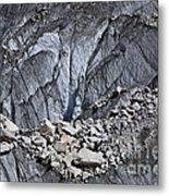 Rocks Resting On The Ghulkin Glacier Metal Print