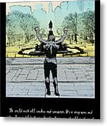 Rocky - All Sunshine And Rainbows Metal Print by Bill Cannon