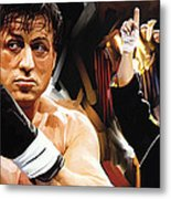 Rocky Artwork 2 Metal Print