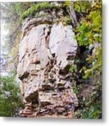 Rocky Cliff Wildcat Den Muscatine Ia 1 Metal Print