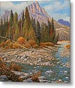 Rocky Creek 111105-1418 Metal Print