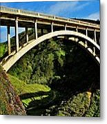Rocky Creek Bridge Metal Print