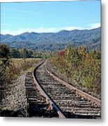 Rocky Creek Railroad Metal Print