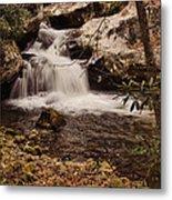 Rocky Fork Falls Metal Print