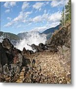 Rocky Ledges Metal Print