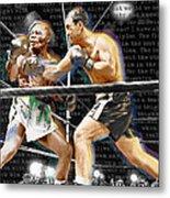 Rocky Marciano V Jersey Joe Walcott Quotes Metal Print