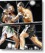 Rocky Marciano V Jersey Joe Walcott Metal Print
