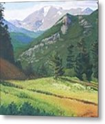 Rocky Mountain Grandeur Metal Print