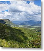 Rocky Mountain National Park Panorama Metal Print