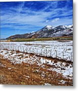 Rocky Mountain Ranch Metal Print