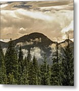 Rocky Mountain Red Metal Print