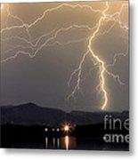 Rocky Mountain Thunderstorm  Metal Print