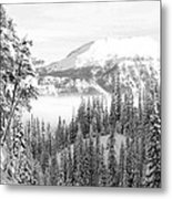 Rocky Mountain Vista Metal Print