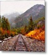 Rocky Mountaineer Metal Print