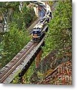 Rocky Mountaineer Railway Metal Print
