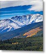 Rocky Mountains Independence Pass Metal Print