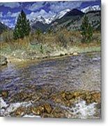 Rocky Mountains Metal Print by Tom Wilbert