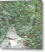 Rocky Path Metal Print
