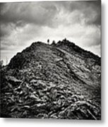Rocky Pathway 2 Metal Print