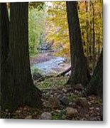 Rocky River Autumn 4 Metal Print