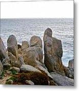 Rocky Seascape Metal Print