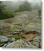 Rocky View From Near The Top Metal Print