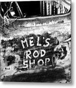 Rod Shop Truck Metal Print