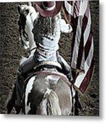 Rodeo America Metal Print